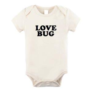 Love Bug Organic Bodysuit Onesie
